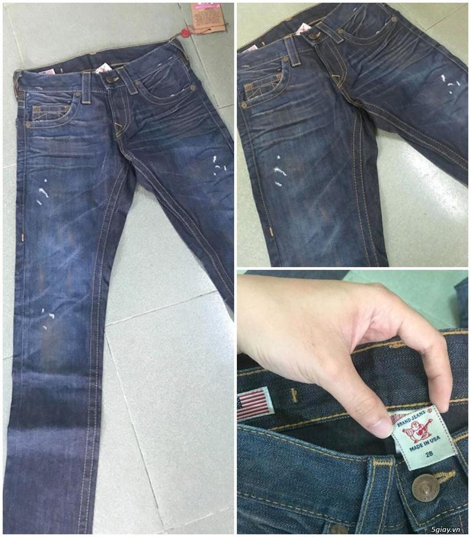 Quần jean si đa ( 2hand ) của các hãng Ông địa , D&G , A/X...  nhập từ USA , Italy ... - 2