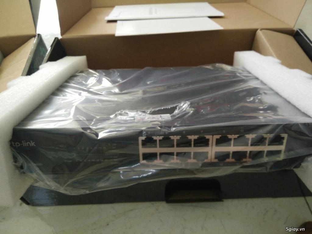 Cần bán: Switch TP-LINK TL-SG1016D + TL-SG1024D - 1