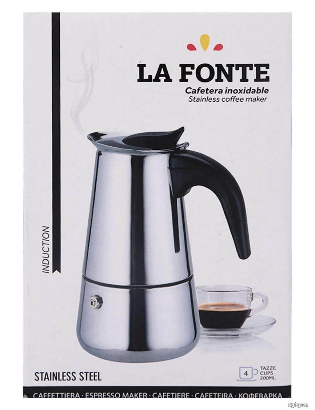 BÌNH PHA CAFE BẰNG INOX - LAFONTE - 1
