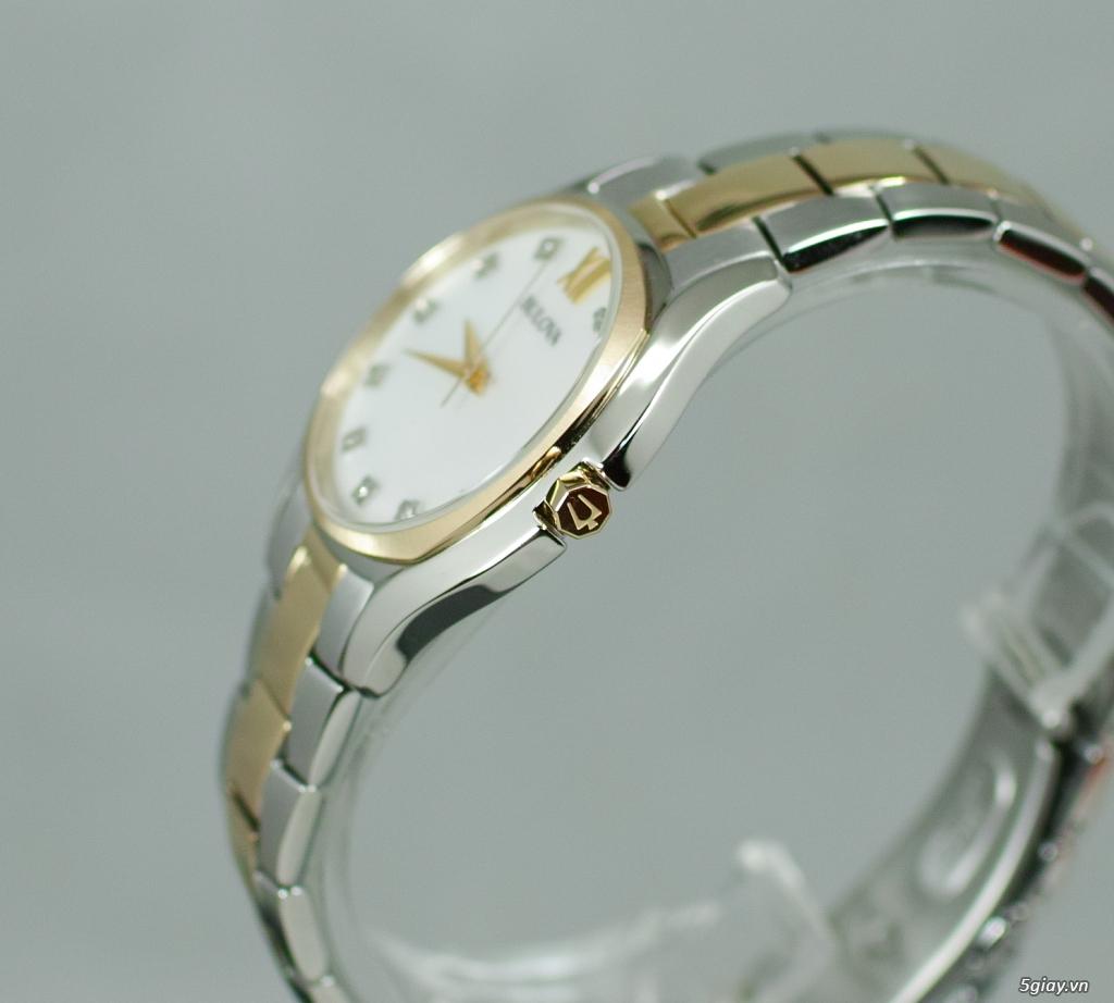 Đồng hồ nữ xách tay chính hãng Seiko,Bulova,Hamilton,MontBlanc,MK,.. - 3