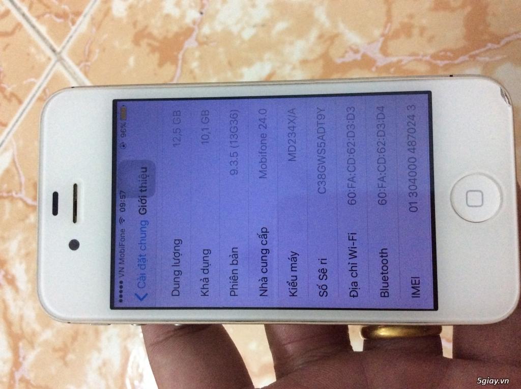 Thanh lý iphone 4s QT 16gb (tin còn máy còn) - 1