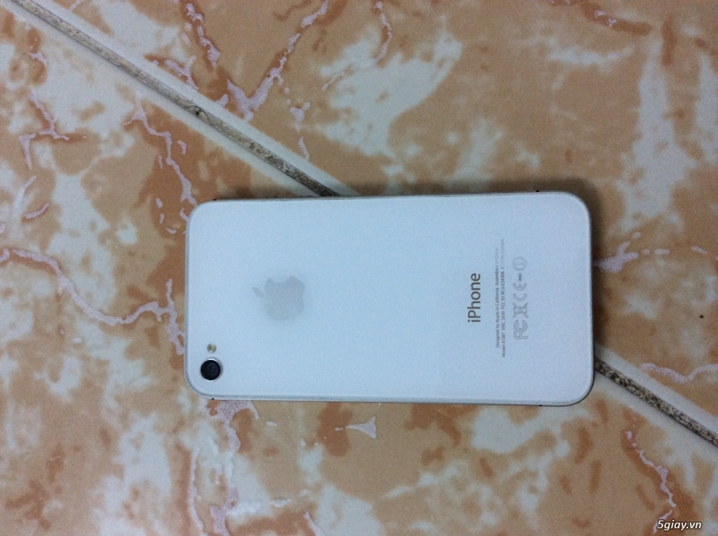 Thanh lý iphone 4s QT 16gb (tin còn máy còn) - 3