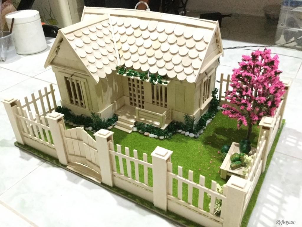 SunShineShop - Nhận đặt làm mô hình nhà que theo yêu cầu - 22
