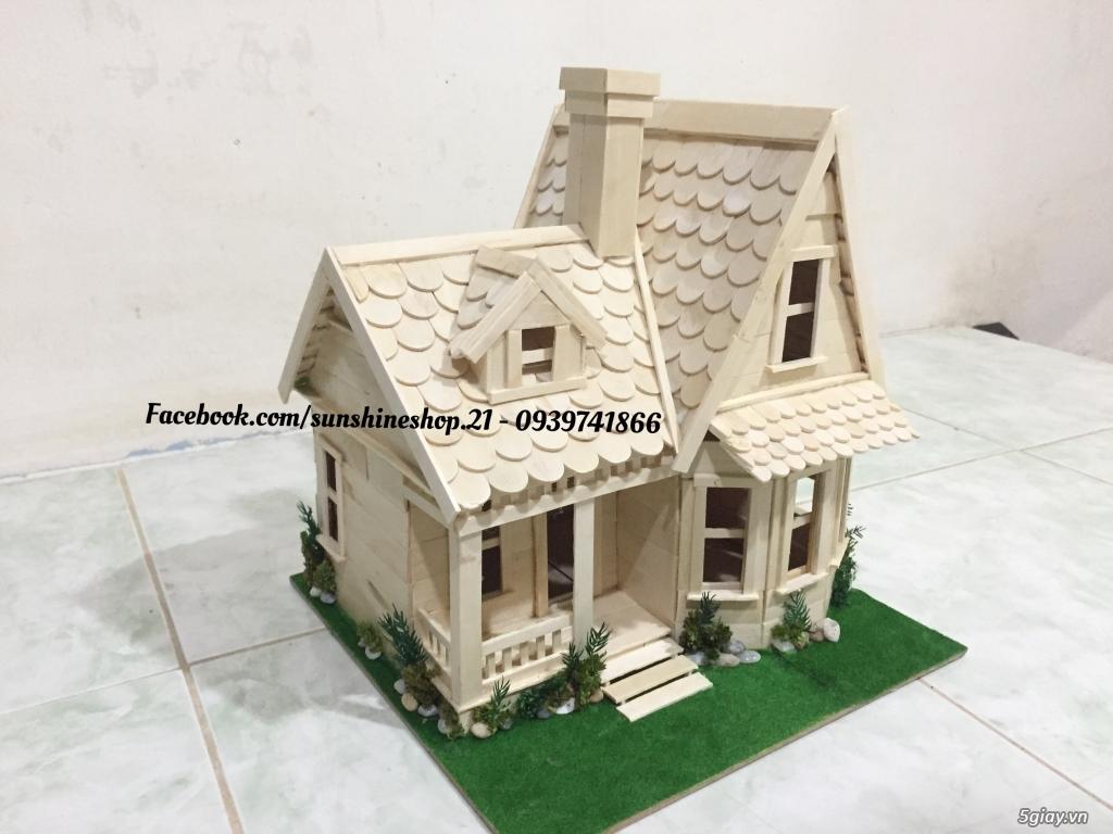 SunShineShop - Nhận đặt làm mô hình nhà que theo yêu cầu - 1