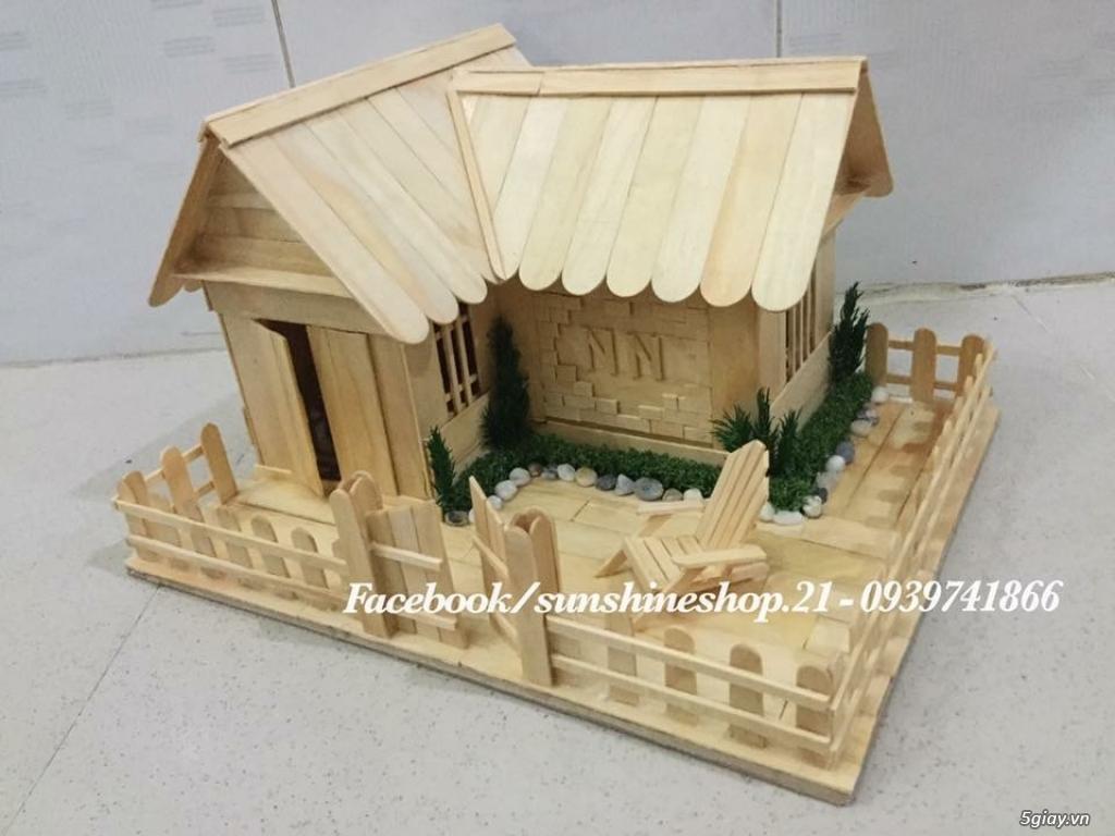 SunShineShop - Nhận đặt làm mô hình nhà que theo yêu cầu - 18