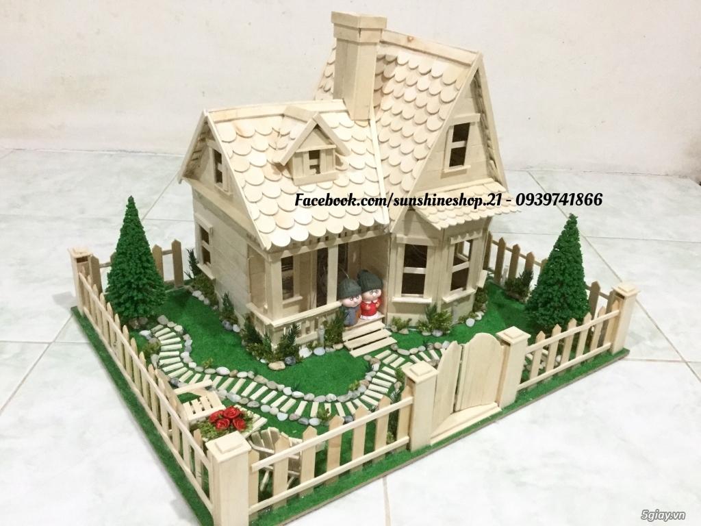 SunShineShop - Nhận đặt làm mô hình nhà que theo yêu cầu - 2