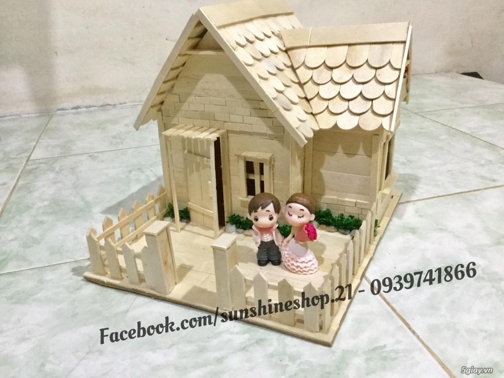 SunShineShop - Nhận đặt làm mô hình nhà que theo yêu cầu - 20