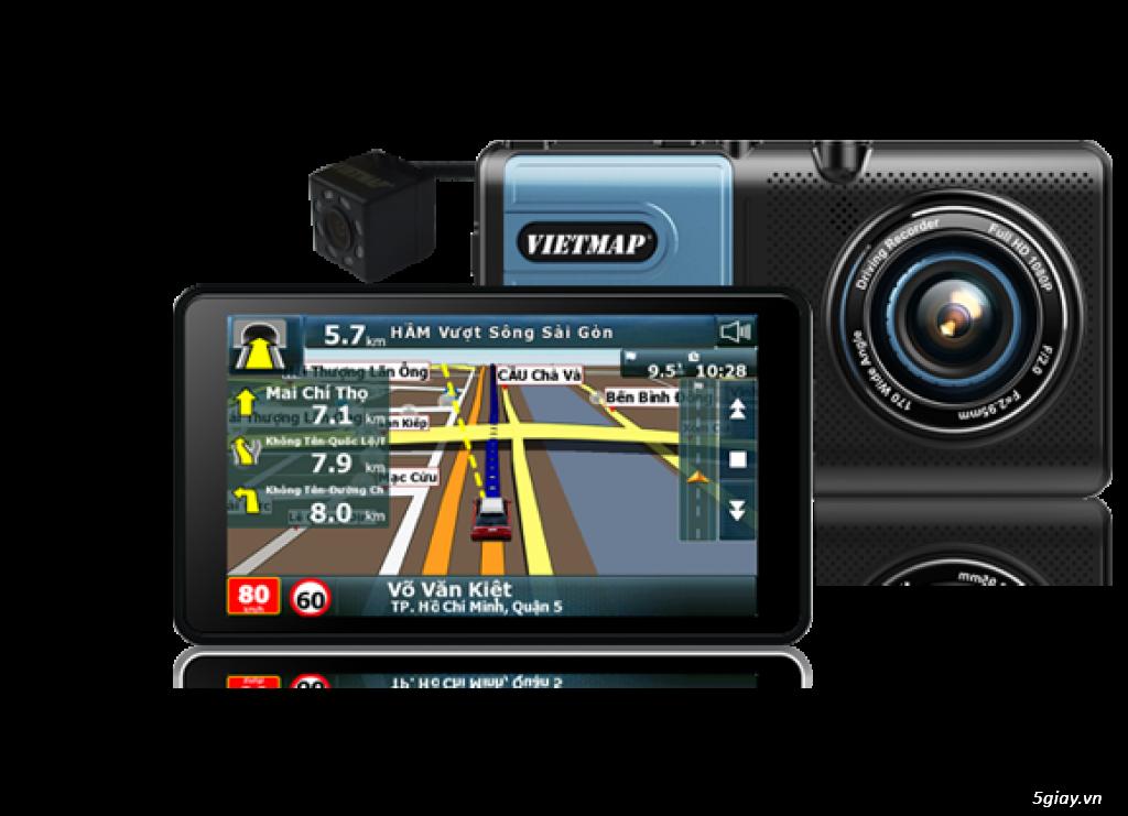 Trang trí ô tô tại nhà. Lắp đặt thiết bị dẫn đường, camera hành trình chính hãng VietMap giá tốt - 1