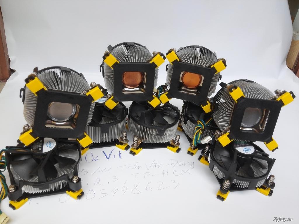 Hub Fan PWM, Backplate AMD 115x,775,1366clip 2011 gông, Ốc Đồ Mod Case - 4