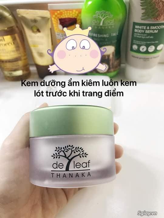 Kem dưỡng trắng da Deleaf Thanaka - chống nắng - làm trẻ hóa làn da