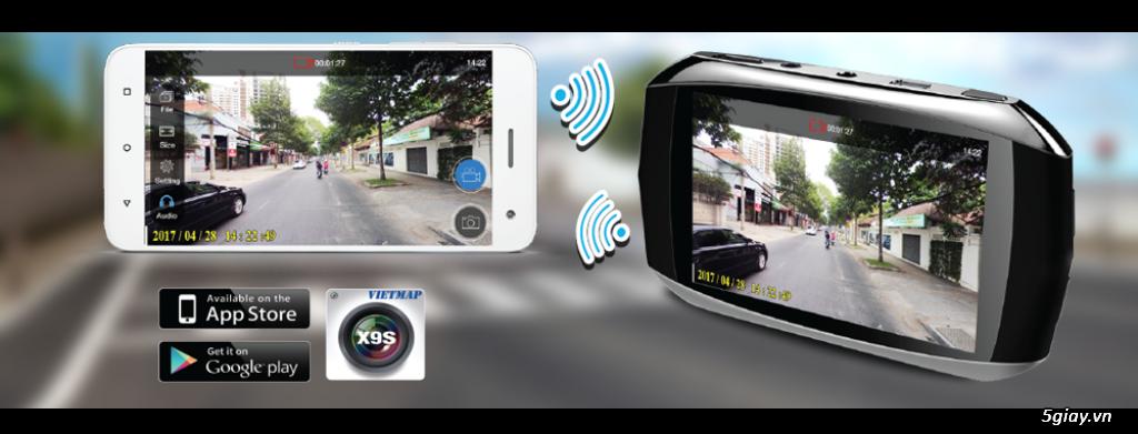 Trang trí ô tô tại nhà. Lắp đặt thiết bị dẫn đường, camera hành trình chính hãng VietMap giá tốt - 8