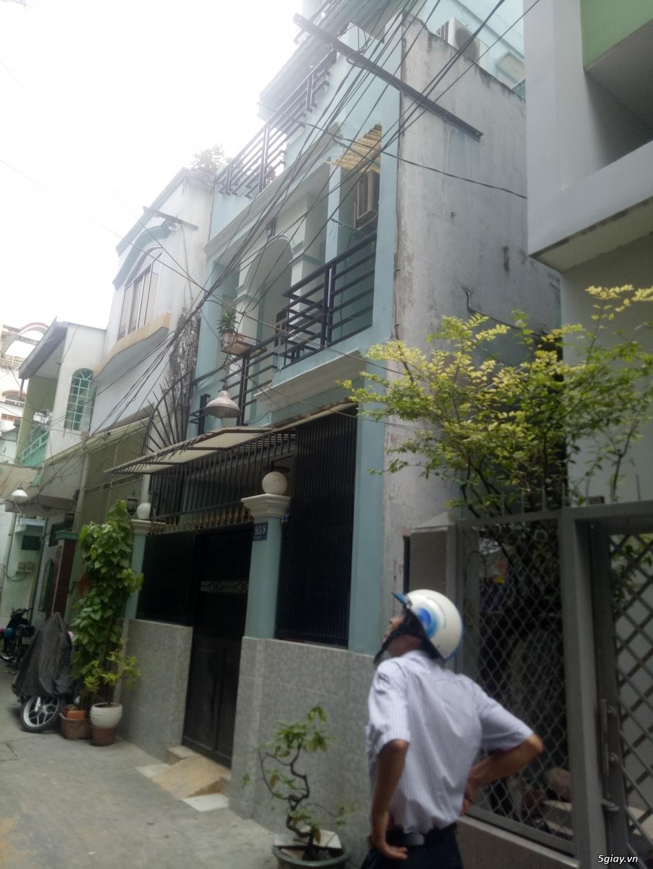 Đáo hạn ngân hàng bán gấp căn Trần Bình Trọng (4x12) trệt 1 lầu giá7.5