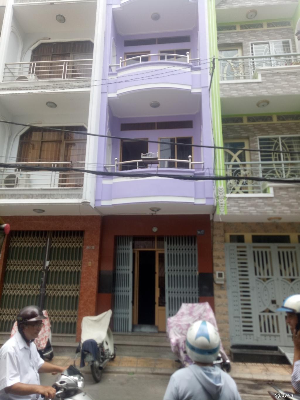 Cần tiền kinh doanh bán gấp nhà HXH Phan Văn Trị 9.2 diện tích lớn