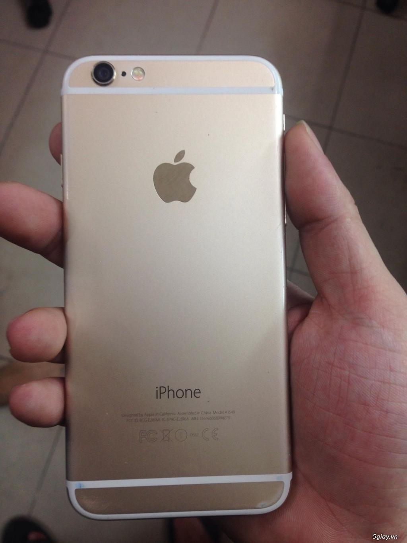 Iphone 6 Gold 16gb hàng đẹp zin like 99.999% - 4