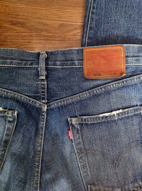 Jeans 2nd hàng hiệu: Just Cavalli, gap, levi's - 6