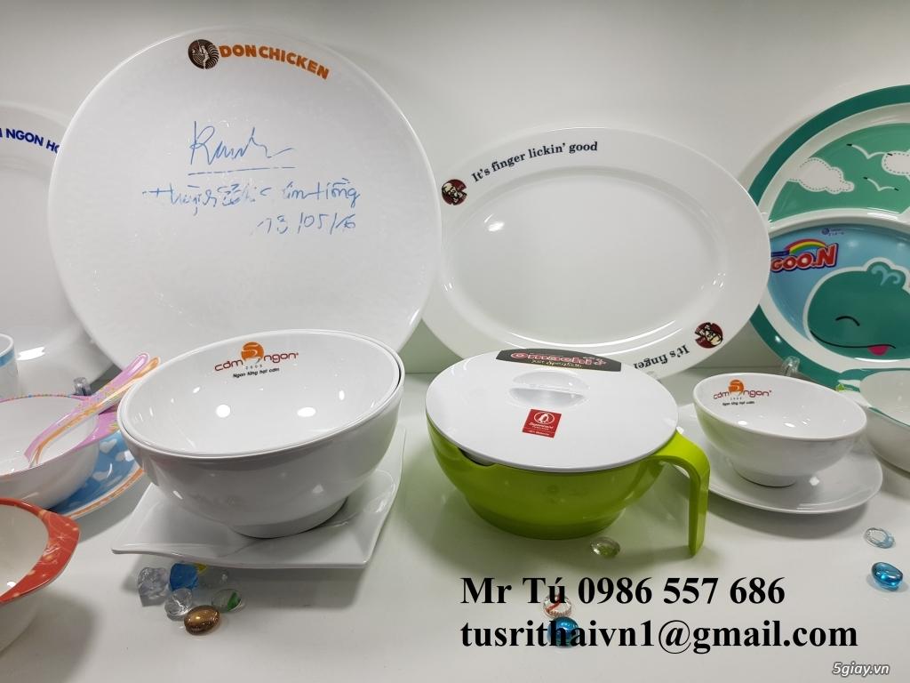 Chén dĩa Melamine Superware Thái Lan dành cho nhà hàng khách sạn - 11