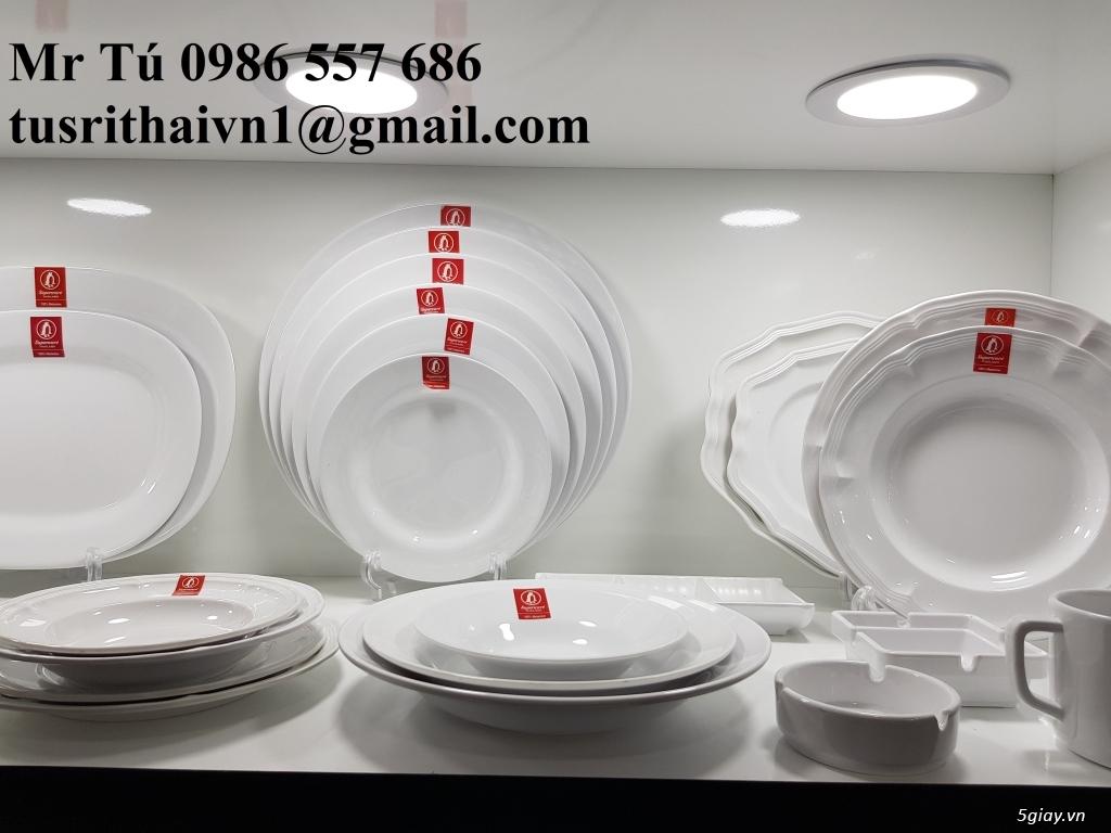 Chén dĩa Melamine Superware Thái Lan dành cho nhà hàng khách sạn - 7