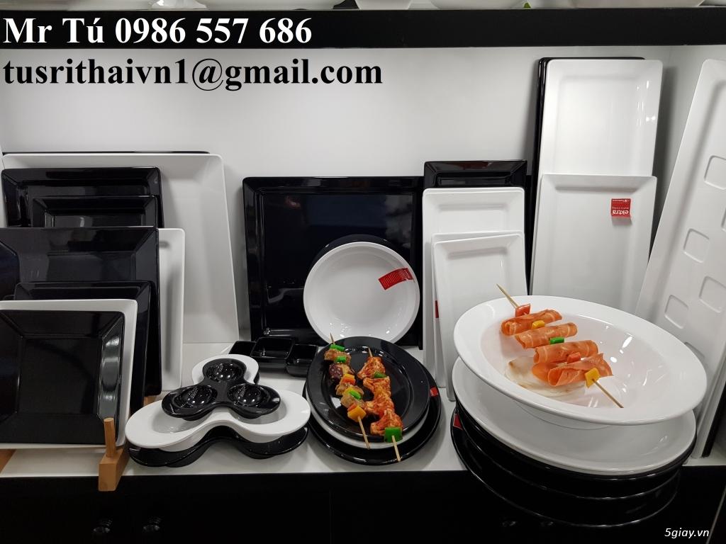 Chén dĩa Melamine Superware Thái Lan dành cho nhà hàng khách sạn - 8