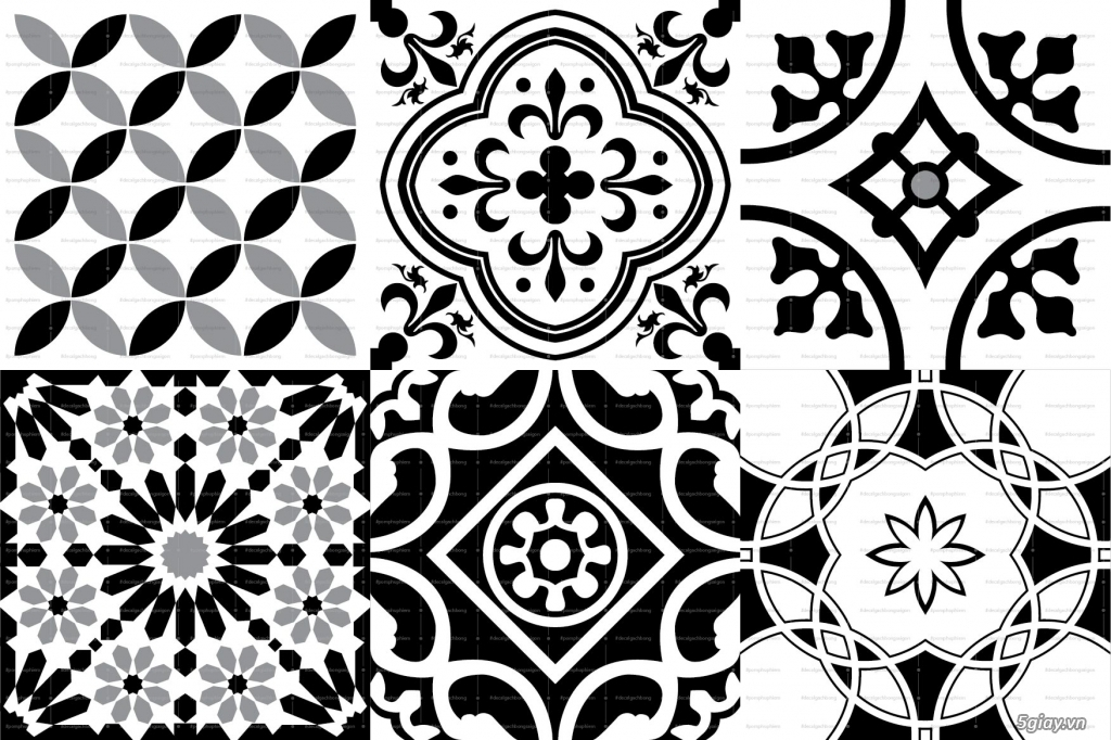 Decal gạch bông - giải pháp trang trí cho người bận rộn - 1