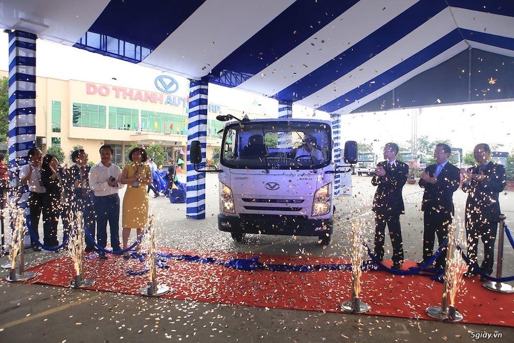 Doanh nghiệp Việt ra mắt xe tải nhẹ lắp trong nước đạt tiêu chuẩn Euro4