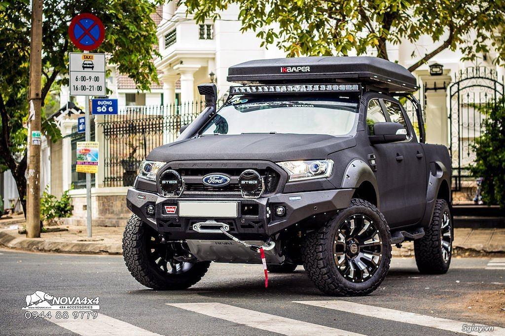 Ford Ranger độ cực ngầu của người Kiên Giang