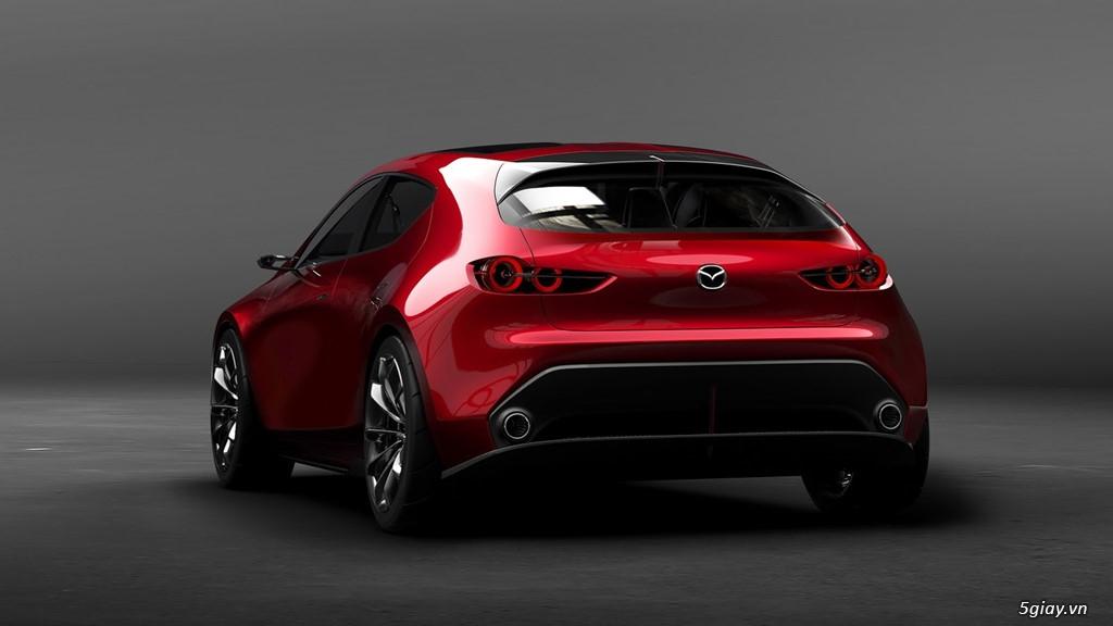Mazda 3 thế hệ mới ra mắt tháng 11 - 1