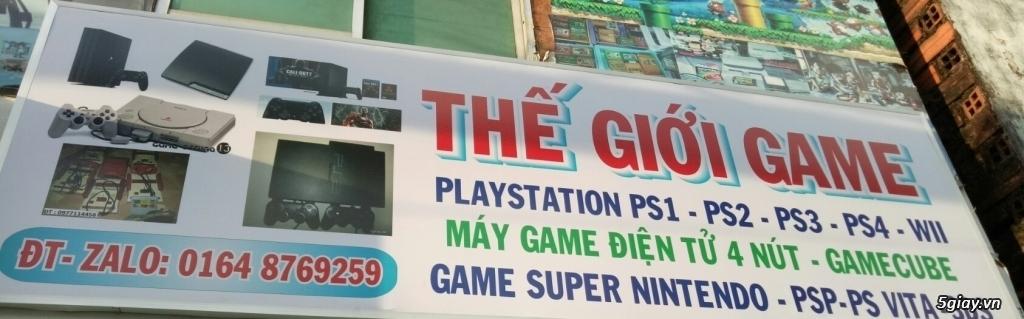 playstation-PS1- PS2- PS3 -PS4-psVITA-PSP-WII-NINTENDO-chuyên PS2 ổ cứng chép game bảo hành 1 đổi 1