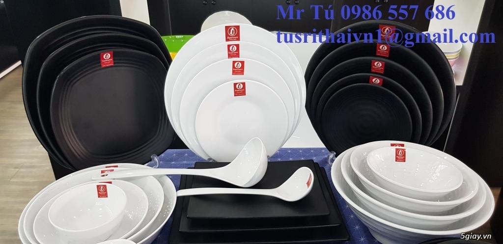 Tô chén dĩa nhựa  Superware Thái lan .Đồ dùng bếp cho nhà hàng kháchạn - 2