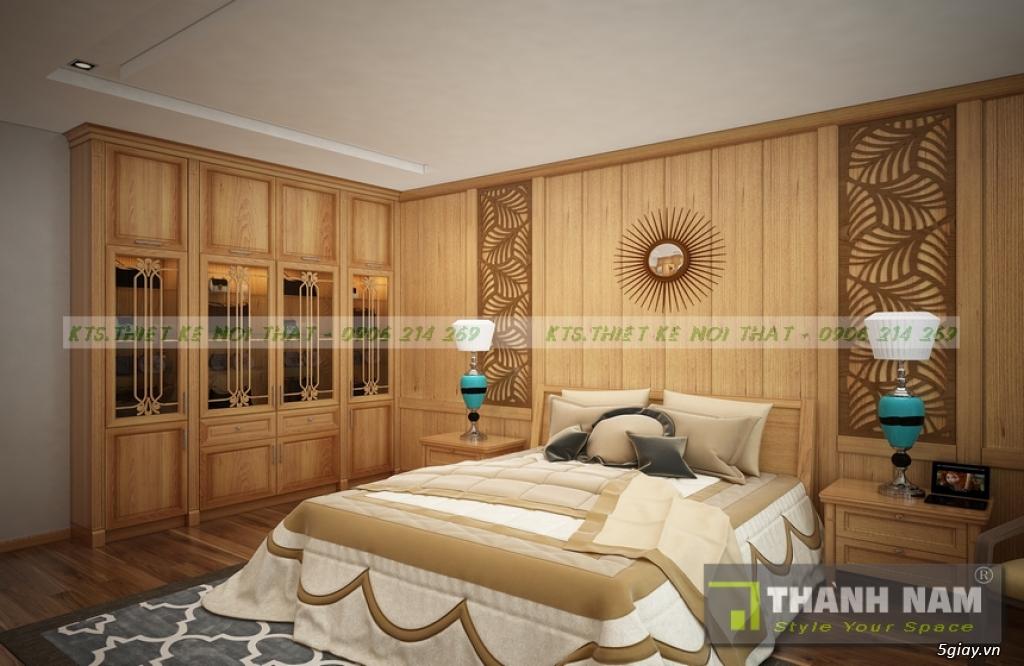 Thiết kế & Thi công Nội Thất bằng gỗ đỏ Nam Phi mẫu mới 2018 - 11