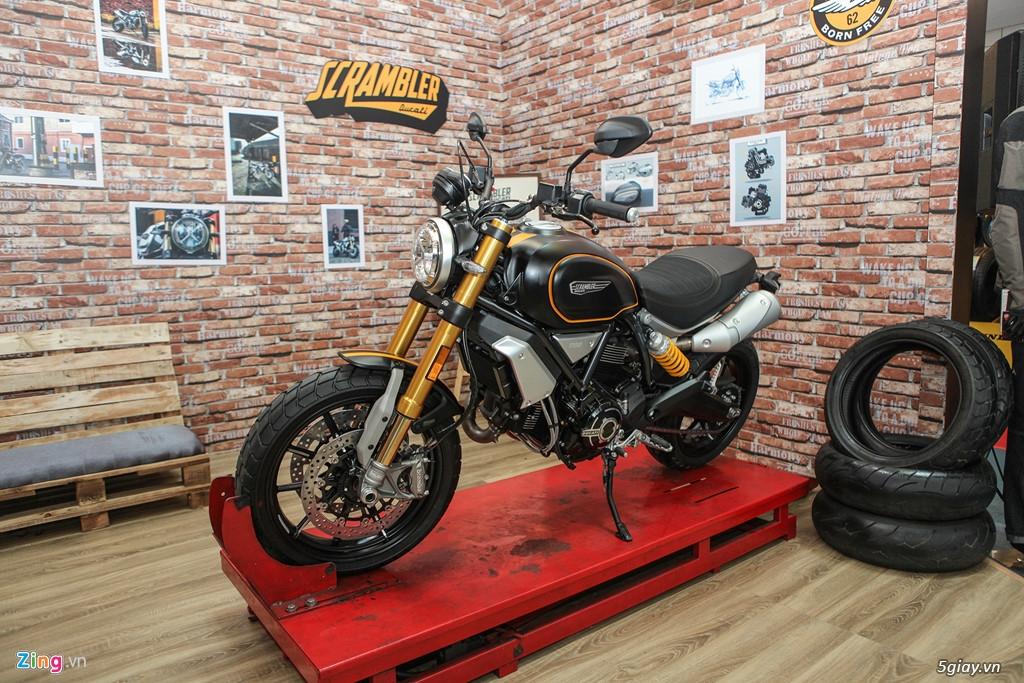 Ducati Scrambler Sport 1100 giá 505 triệu đồng tại VN