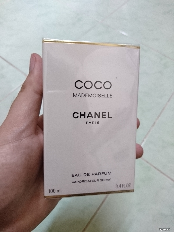 (Quận 3) Nước hoa chaaa (Authetic) nữ và chaaa + Versace (NK) nam