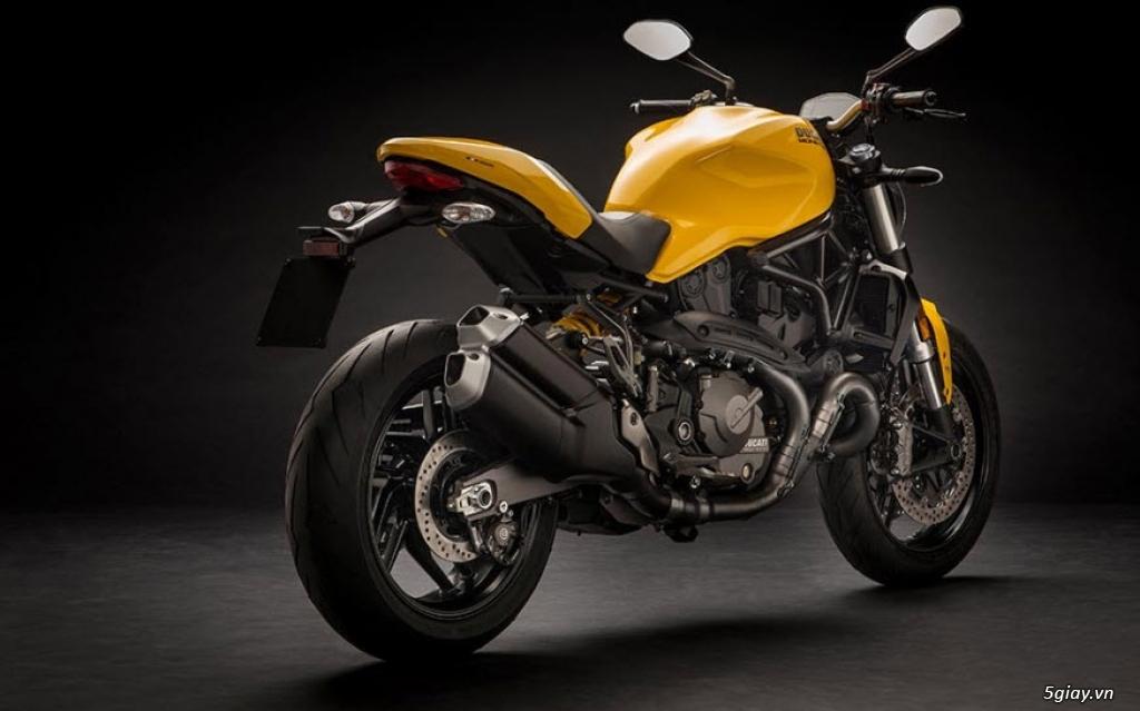 Thông số kỹ thuật Ducati Monster 821 2018