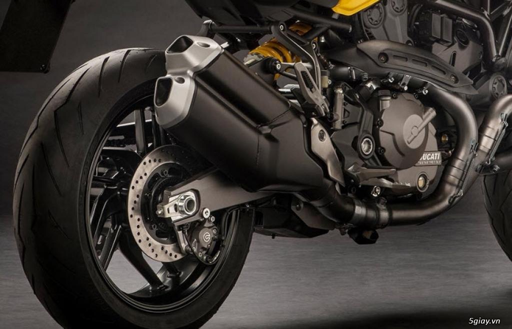 Thông số kỹ thuật Ducati Monster 821 2018 - 4