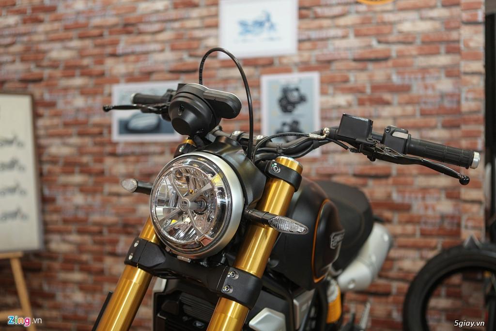 Ducati Scrambler Sport 1100 giá 505 triệu đồng tại VN - 1