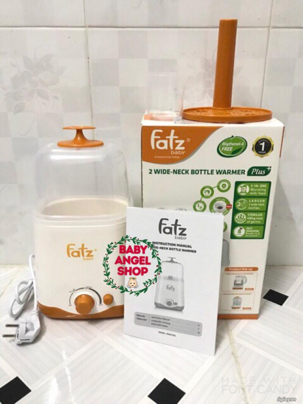 Máy hâm sữa Fatz Baby Hàn Quốc mới 100% giá rẻ - 9