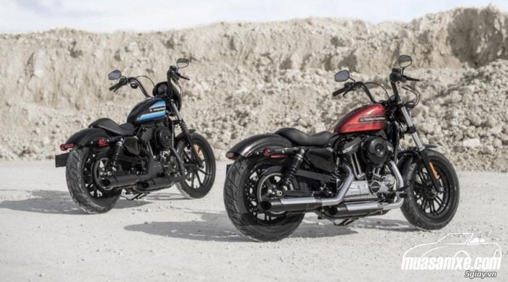 Harley Davidson ra mắt 2 mẫu Sportster 1200cc mới - 2