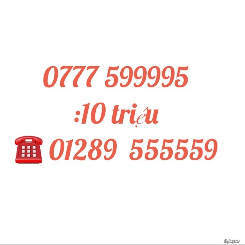 Bán sim số đẹp 01227 599995 =-> 0777 599995