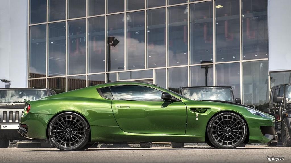 Bản độ Aston Martin lấy cảm hứng từ Người khổng lồ xanh - 2