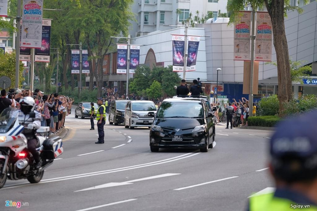 Đoàn xe hộ tống ông Kim Jong Un gồm những xe gì? - 2
