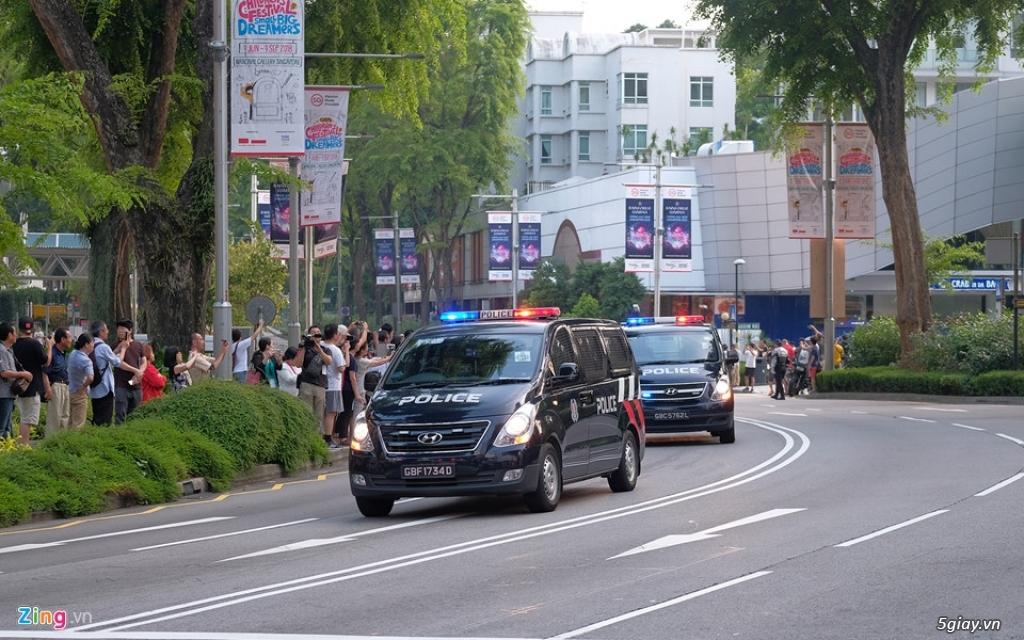 Đoàn xe hộ tống ông Kim Jong Un gồm những xe gì? - 9