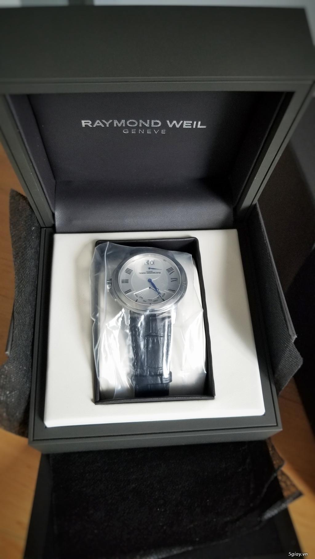 Đồng hồ Raymond Weil (Swiss) fullbox new 100% (hình thật) - 1