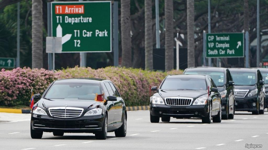 Đoàn xe hộ tống ông Kim Jong Un gồm những xe gì? - 7
