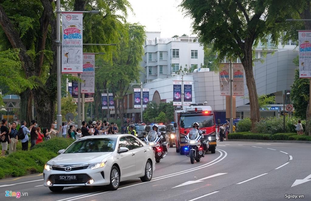 Đoàn xe hộ tống ông Kim Jong Un gồm những xe gì? - 8