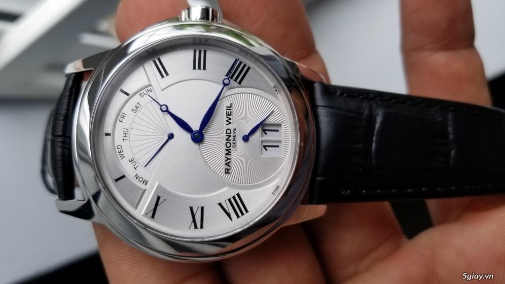 Đồng hồ Raymond Weil (Swiss) fullbox new 100% (hình thật) - 2