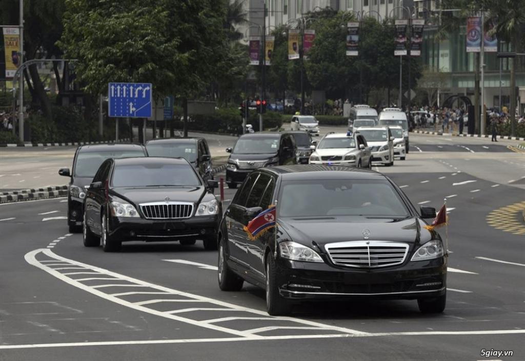 Đoàn xe hộ tống ông Kim Jong Un gồm những xe gì? - 1