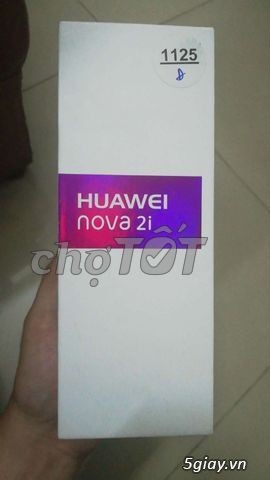 Huawei Nova 2i Đen, BH tháng 12/2018