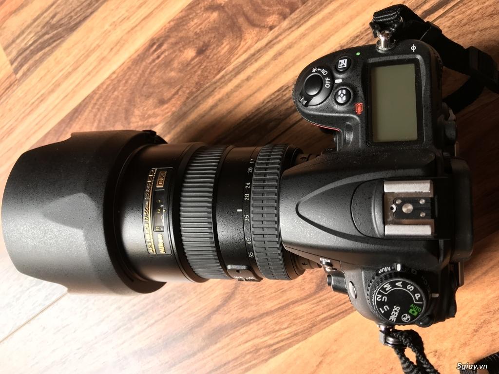 Bán Nikon D7000, Nikkor 17-55 1:2.8G ED, Flash SB900
