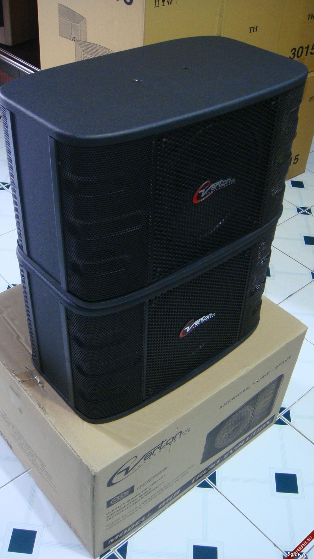 Cần thanh lý đầu ampli karaoke Jarguar PA-503A và cặp loa Verton 868!!