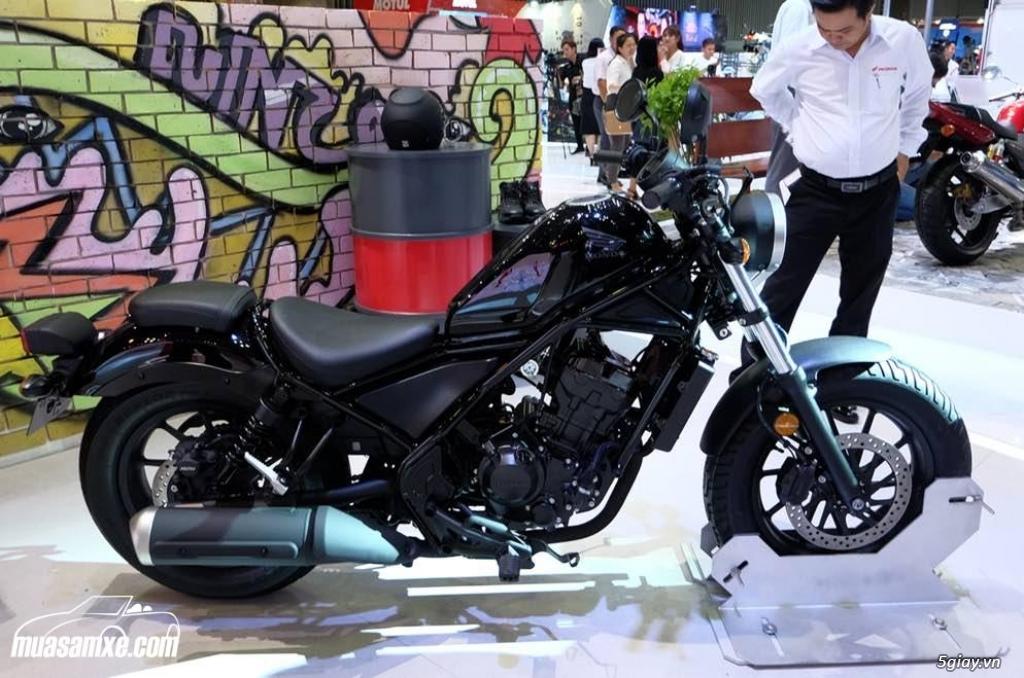 Đánh giá xe Honda Rebel 300 2018 thế hệ mới