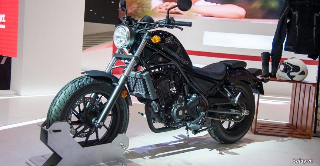 Đánh giá xe Honda Rebel 300 2018 thế hệ mới - 1